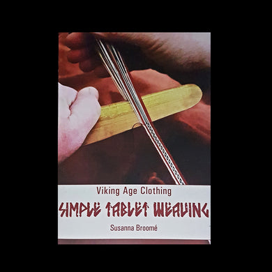 Viking Age Simple Tablet Weaving Book New Cover - Viking Crafts
