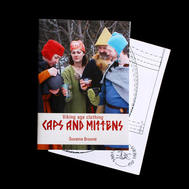 Viking Age Clothing - Caps & Mittens Book - Viking Craft & Design Books