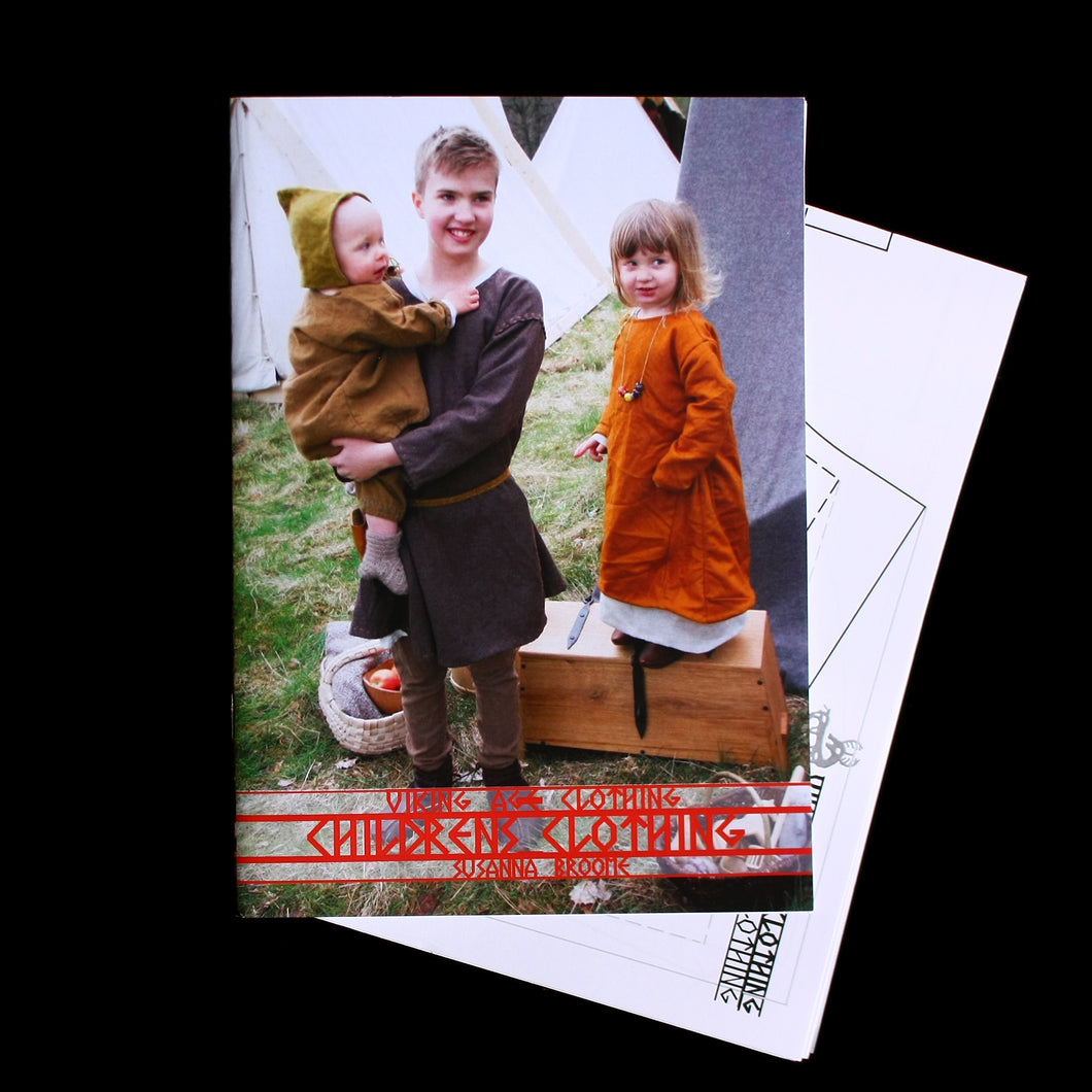 Viking Age Childrens Clothing Book - Viking Craft & Design Books