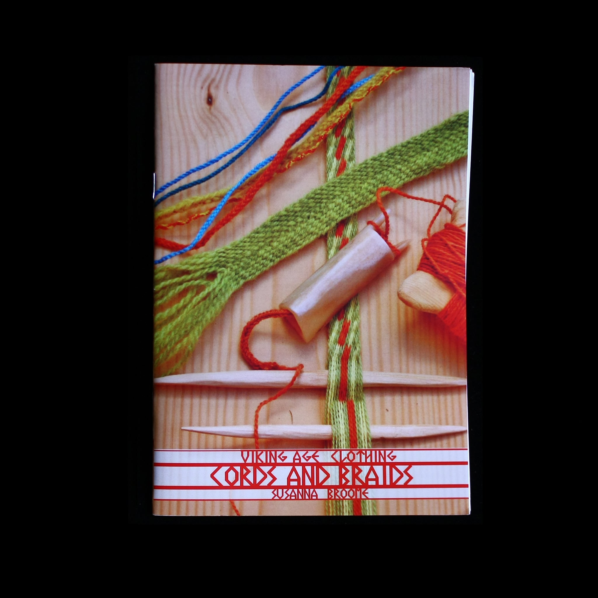 Viking Age Cords & Braids Book - Viking Craft & Design Books