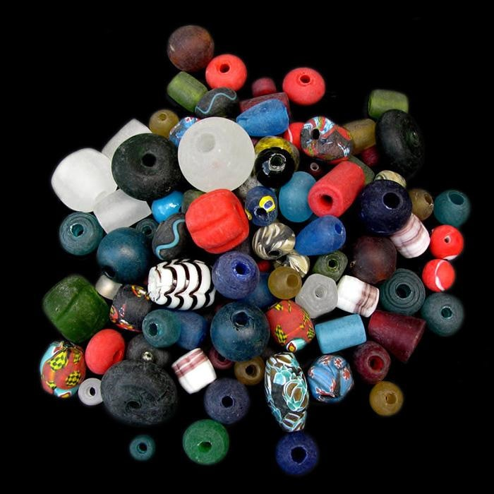 Assorted Glass Viking Beads From Birka - Viking Beads