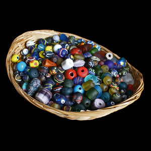 Assorted Glass Replica Viking Beads From Birka - Viking Jewelry