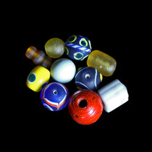 Load image into Gallery viewer, Assorted Glass Replica Viking Beads From Birka x 10 - Viking Jewelry