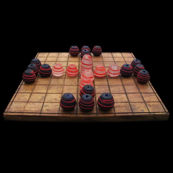 Complete Viking Replica Hnefatafl Game