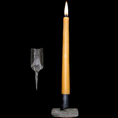 Iron Candle Holder - Viking & Medieval Lighting