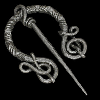 Decorated Iron Cloak Pin from Birka