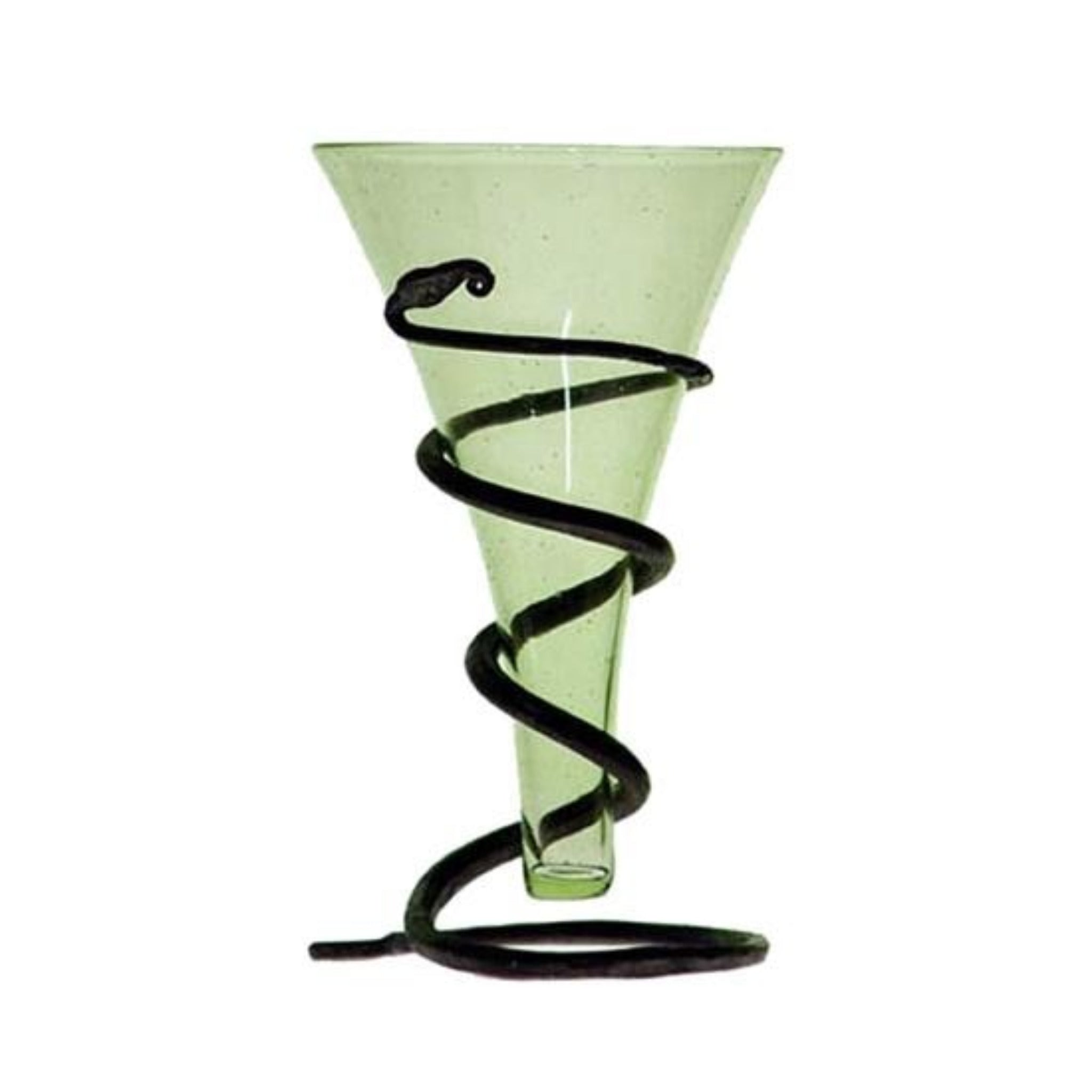 Glass Viking Cone Beaker with Stand