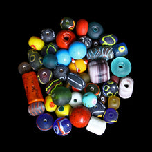 Load image into Gallery viewer, Assorted Glass Replica Viking Beads From Birka x 50 - Viking Jewelry