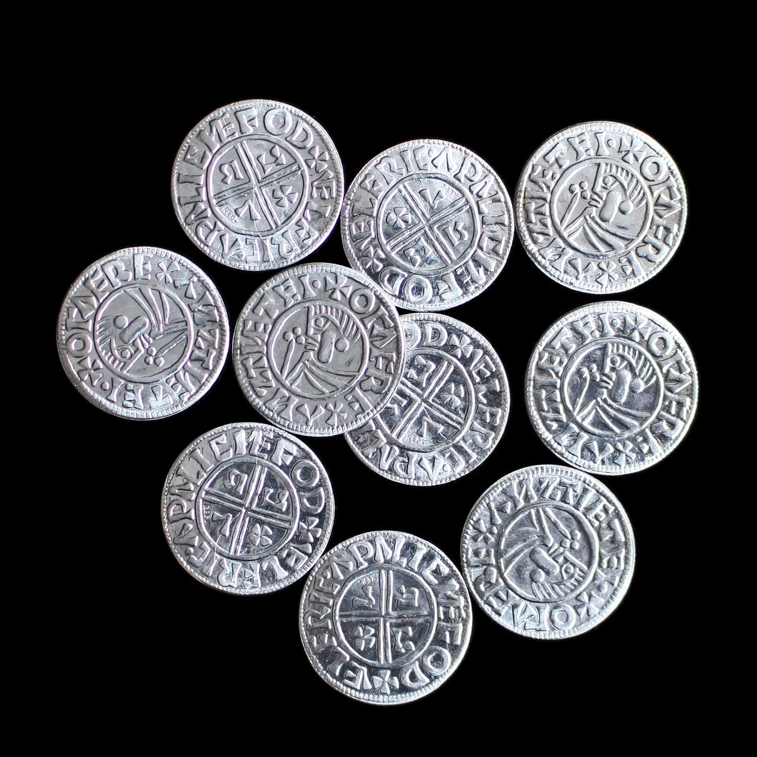 Æthelred Replica Saxon Coins from Winchester