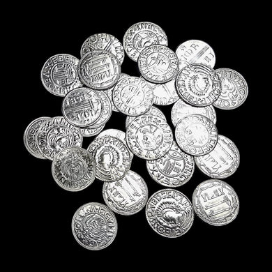 Small Assorted Replica Viking Coins - Viking Accessories