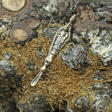 Load image into Gallery viewer, Bronze Ear Spoon Pendant - Viking Pendants