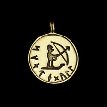 Load image into Gallery viewer, Bronze Skadi Ull Replica Viking Pendant - Viking Jewelry