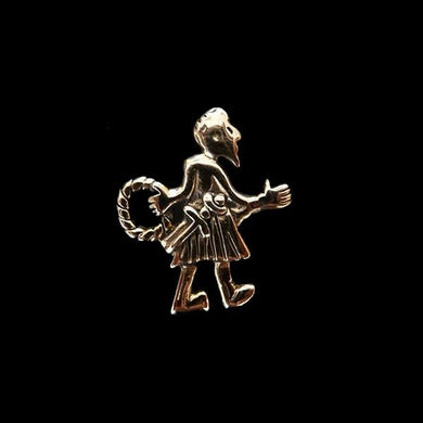 Bronze Fafnir Viking Pendant - Viking Pendants