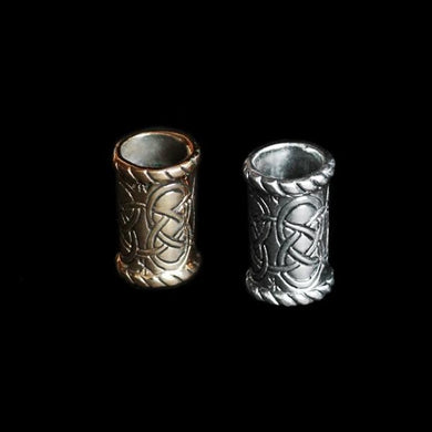 Medium Knotwork Viking Beard Ring - Viking Beard Rings
