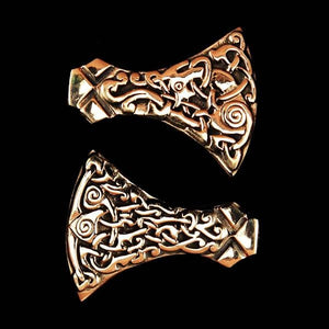 Bronze Mammen Axe Head Pendant - Viking Pendants