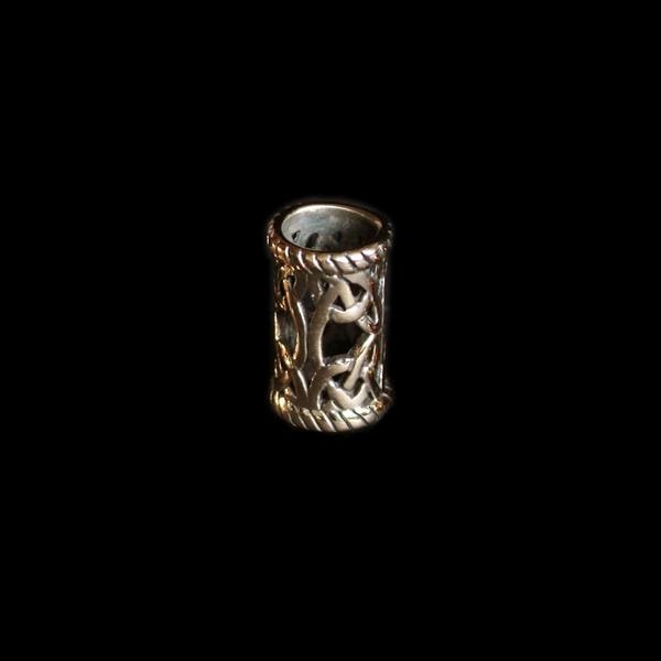 Medium Openwork Viking Beard Ring - Bronze - Viking Beard Rings