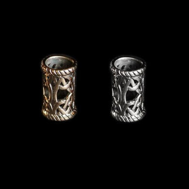 Medium Openwork Viking Beard Ring - Viking Beard Rings