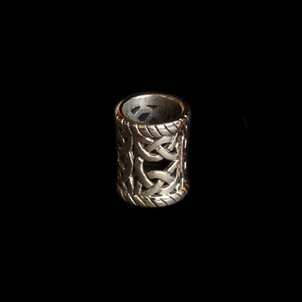 Large Openwork Viking Beard Ring - Bronze - Viking Beard Rings