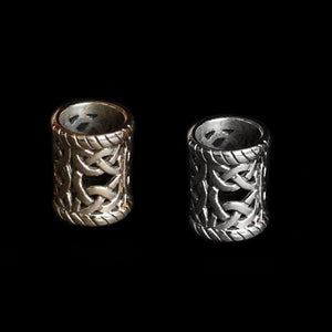 Large Openwork Viking Beard Ring - Viking Beard Rings