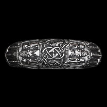 Load image into Gallery viewer, Silver Viking Arm Ring from Novgorod - Viking Bracelets - Warrior Arm Rings - Viking Jewelry