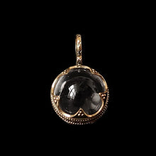 Load image into Gallery viewer, Small Gotland Crystal Ball Pendant - Bronze - Viking Pendants