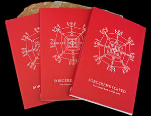 Sorcerer's Screed - The Icelandic Book of Magic Spells x 3 - Viking Dragon Books