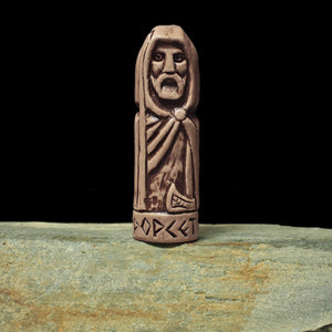 Hand-Crafted Ceramic Forseti Statuette - Asatru / Heathen Supplies