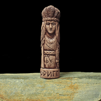 Hand-Crafted Ceramic Frigg Statuette - Asatur / Heathen Supplies