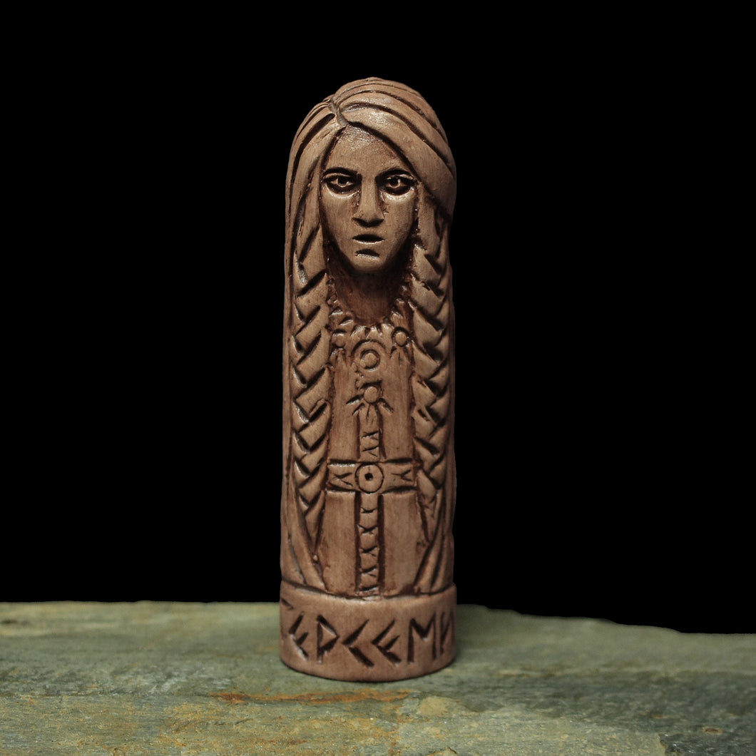 Hand-Crafted Ceramic Gersemi Statuette - Asatru / Heathen Supplies