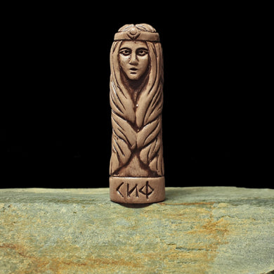 Hand-Crafted Ceramic Sif Statuette - Asatru / Heathen Supplies