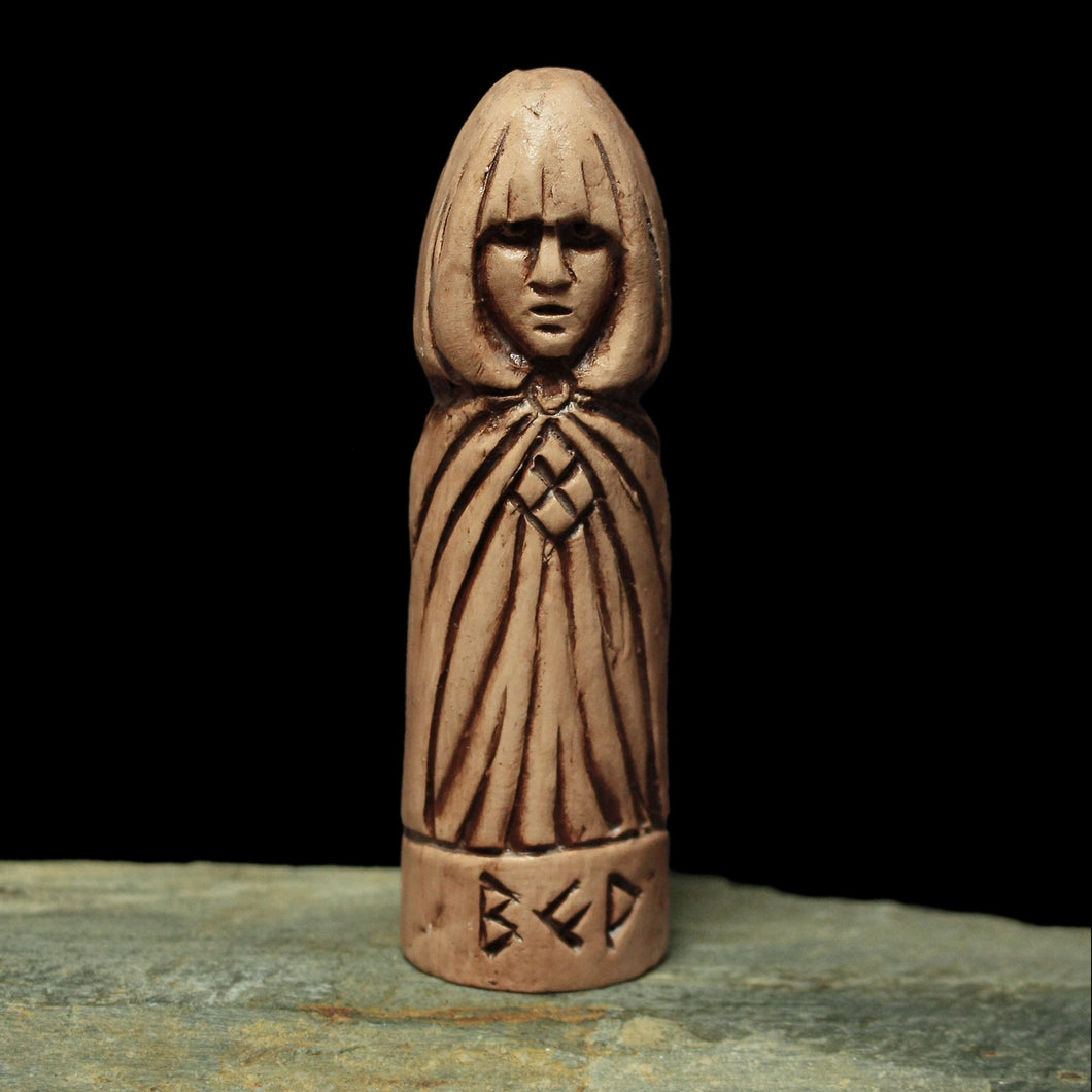 Hand-Crafted Ceramic Vör Statuette - Asatru / Heathen Supplies