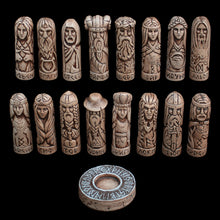 Load image into Gallery viewer, Hand-Crafted Ceramic Norse Gods Collection - Asatru Supplies