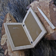 Load image into Gallery viewer, Wax writing tablet made from Birch - Viking Accessories