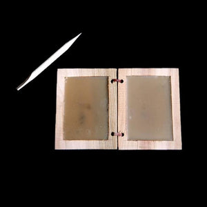 Wax Writing Tablet With Wooden Stylus - Writing Tablets