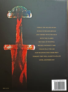Vikings - Swords Dripping Gold - Silver - Blood - Book - Back Cover