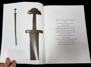 Vikings - Swords Dripping Gold - Silver - Blood - Book - Pages