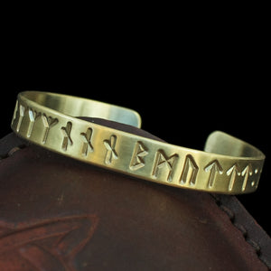 Bronze Runic Bracelet from Lindholm