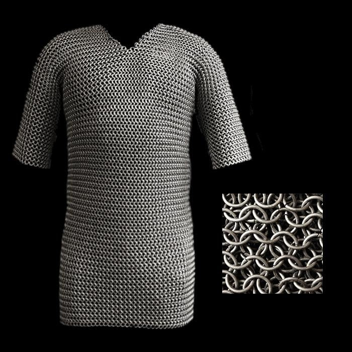 Butted Chainmail Shirt - Viking Armor