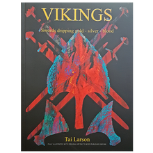 Load image into Gallery viewer, Vikings - Swords Dripping Gold - Silver - Blood - Book - Front Cover