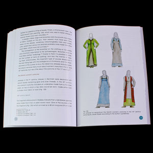 Inside the Viking Dress Code Book by Kamil Rabiega - Viking Costume Books