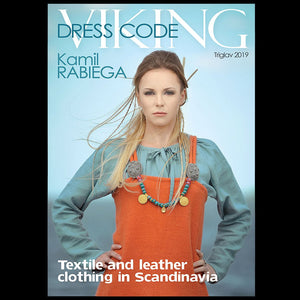 Viking Dress Code Book by Kamil Rabiega - Viking Costume Books