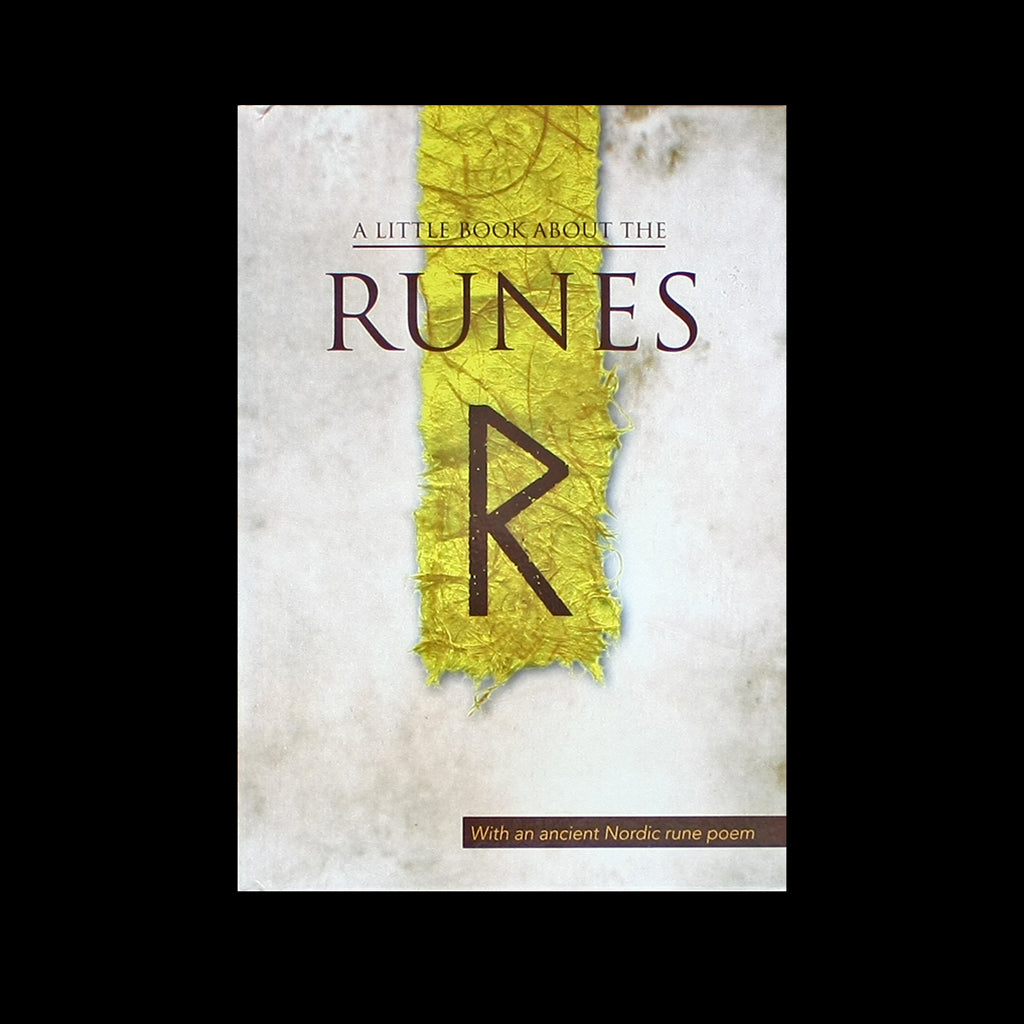 A Little Book About the Runes - Viking Runes Book