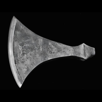Hand-forged, High-Carbon Steel Dane-Axe Head - Sharp - Viking Weapons