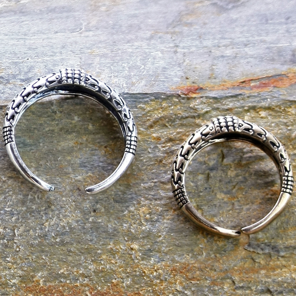Replica Viking Rings from Falster in Silver and bronze - Viking Jewelry