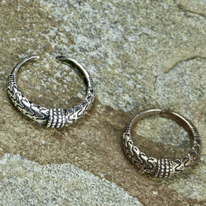 Silver & Bronze Replicas of a 10th Century Viking ring found in Orupgård, Falster, Denmark