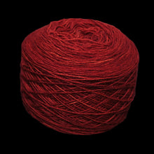 Load image into Gallery viewer, Madder Red wool ball for clothing embroidery