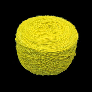 Light green wool ball for clothing embroidery