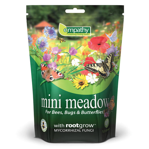 Mini Meadow Wildflower Seed with Rootgrow Mycorrhizal Fungi - 500ml