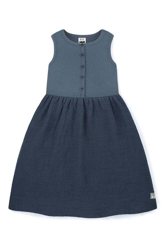 ISABELLE- Sleeveless Cotton Dress