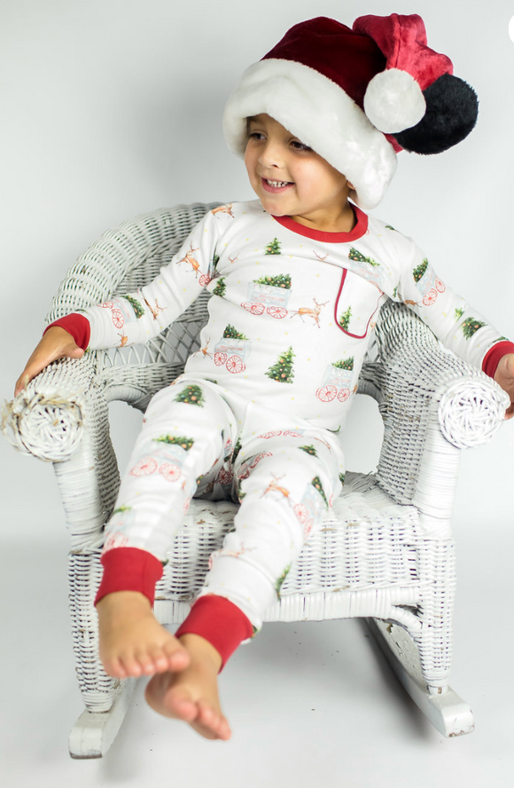 Roman Candy Organic Cotton Pajama Set